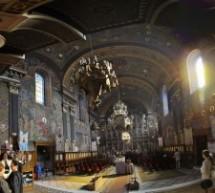 Mihai Eminescu omagiat la Biserica cu Luna