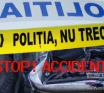 Accident produs în Ceica