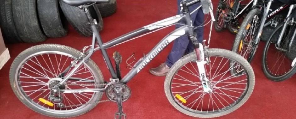 Bicicletă furată, recuperată de poliţiştii din Biharia