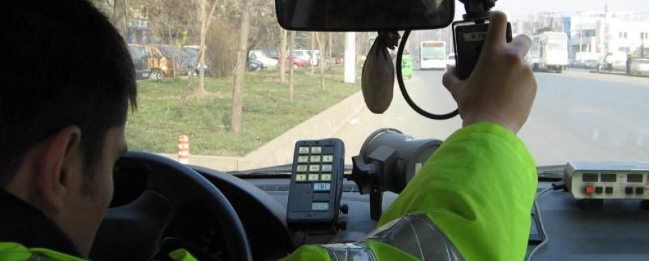 A condus cu 110 km/h pe o stradă din Oradea