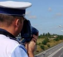 Excesul de viteză în trafic, sancționat de polițiștii bihoreni