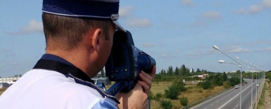 112 conducători auto care au depăşit limitele legale de viteză, sancționați de polițiștii bihoreni