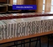 20.000 de țigarete nemarcate legal, confiscate de polițiștii din Diosig de la doi localnici