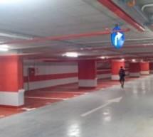 Parcarea subterană de pe strada Independenței din Oradea se va deschide joi, 25 iunie, la ora 12