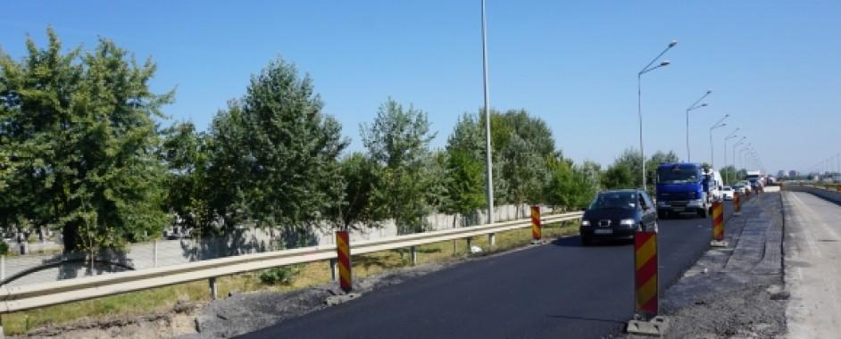 Trafic mai fluent pe centura municipiului Oradea