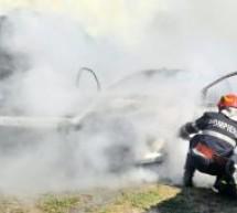 Incendiu în Bogei provocat, cel mai probabil, de autoaprinderea plantelor furajere