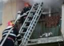 Incendiu pe strada Morii din Oradea