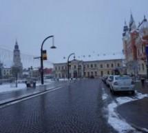 Deszăpezire la primele ore ale dimineţii în Oradea