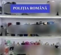 Parfumuri contrafăcute, confiscate de polițiștii bihoreni