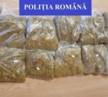 Peste 4,7 kg de tutun pentru fumat, fără documente legale, confiscate de polițiștii din Marghita