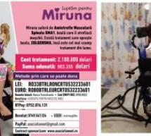 Ajutor pentru Miruna