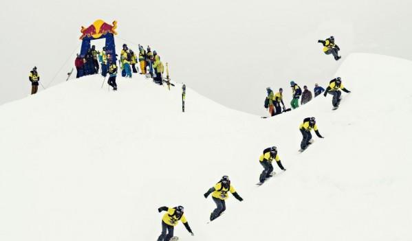 110 schiori si snowboarderi au cucerit muntele la Red Bull Oslea Hiride!
