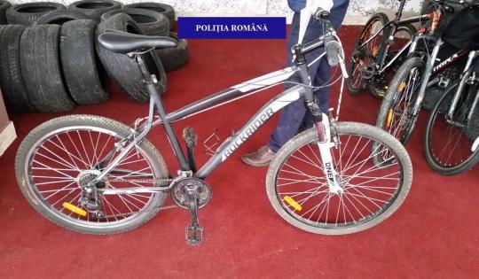 Bicicletă furată de pe o stradă din Salonta, recuperată de polițiști