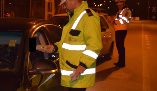 Aproape 200 de șoferi, sancționați de polițiștii bihoreni în ultimele 24 de ore