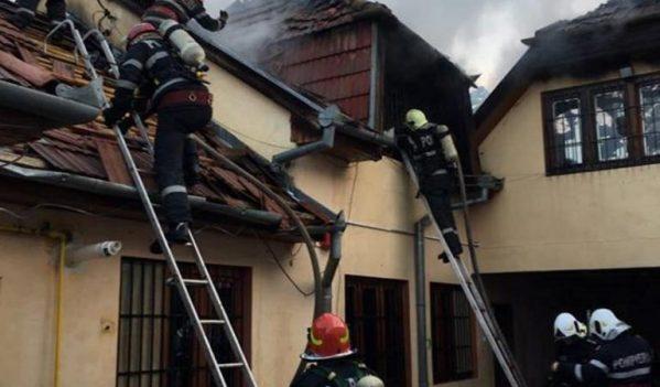 Incendiu la un Centru de plasament pentru copii cu dizabilități din Oradea