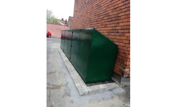 Un nou model de incinte pentru colectarea selectivă a deșeurilor menajere în Oradea