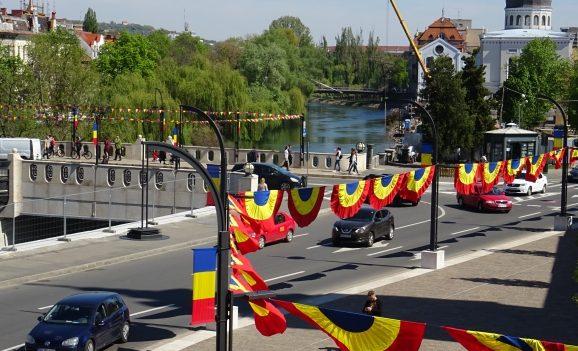 Oradea îmbracă haine de sărbătoare pentru a marca cei 100 de ani de administrație românească