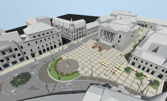 Săptămâna viitoare încep lucrările de reabilitare și modernizare a Pieței Ferdinand din Oradea