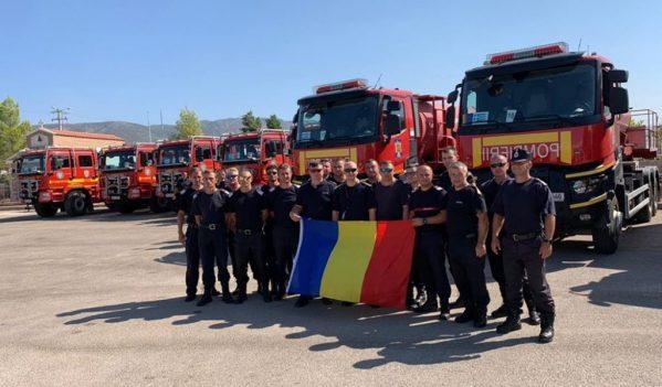 Cei 17 pompieri salvatori bihoreni plecați în misiune în Grecia s-au întors acasă